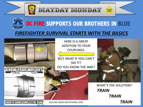 Mayday Monday: Firefighter Survival Basics