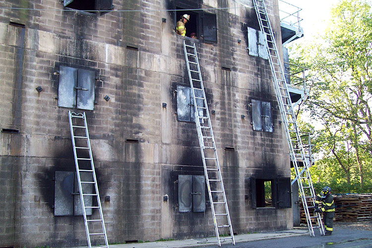 Firefighting Truck Company Basics Ground Ladders