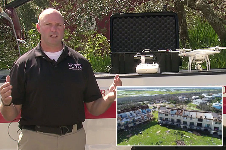 Walt Lewis on drone use for firefighters in USAR situations
