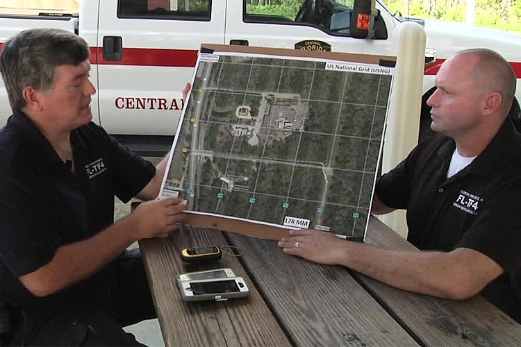 Training Minutes: Reading a USNG Map - Fire Engineering
