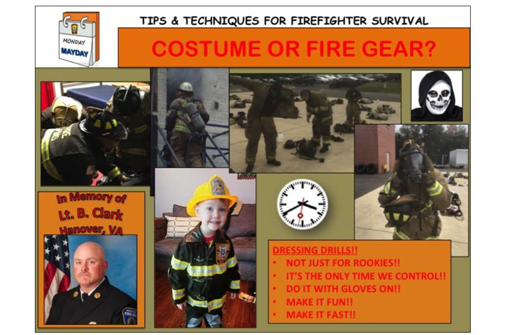 Firefighter turnout gear or costume