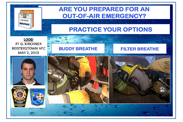 Out of air emergency