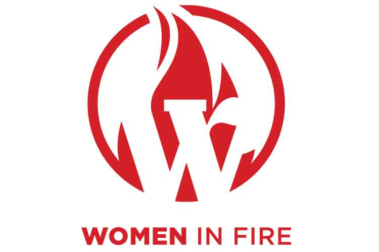 Women in Fire logo