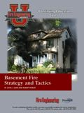 Basement Fire Strategy and Tactics