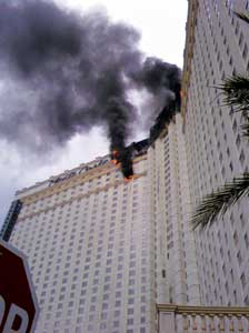 (6) The Monte Carlo Hotel fire involved EIFS installed on the exterior of the building