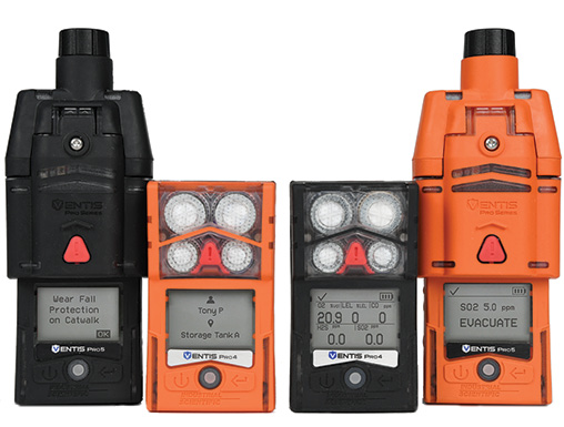 Ventis®'s PRO MULTI-GAS MONITORS prepare firefighters for fire investigations, overhauls, and hazmat operations.