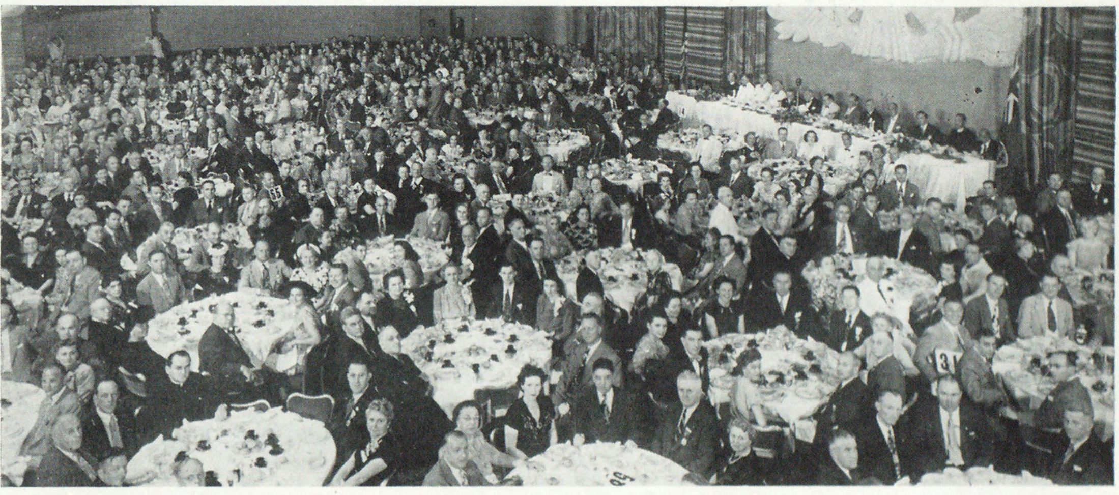 Scene at the Banquet Held on Thursday Night