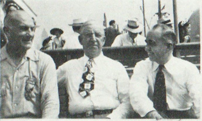 It Took Two Excursion Boats to Carry the Convention Around New York Harbor Chief Frank McAuliffe, Chicago Fire Patrols;