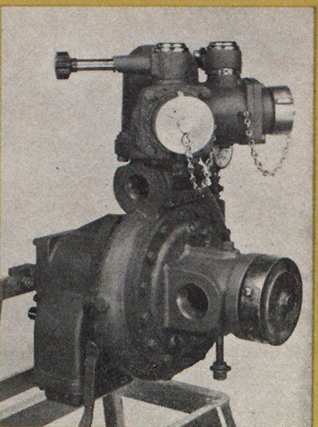 front-mount, 500-gpm barton-American pump manufactured by the American Fire Pump Company.