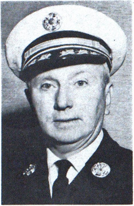 CHIEF EDWARD B. CALLAHAN First Vice President New England Division Woburn. Mass.
