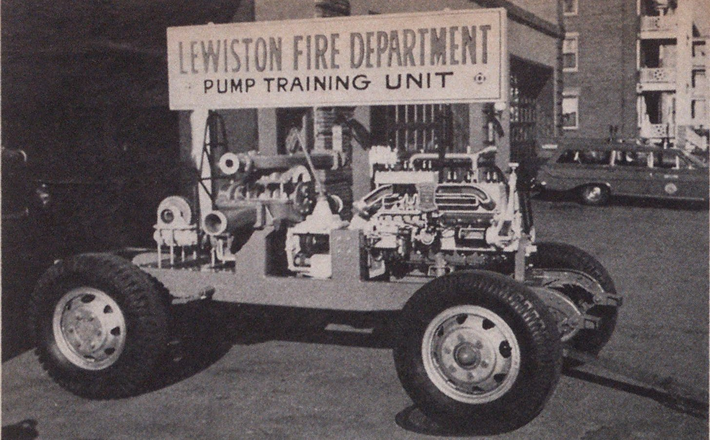 Old Pumper Given Second Life As Low-Cost Cutaway Trainer