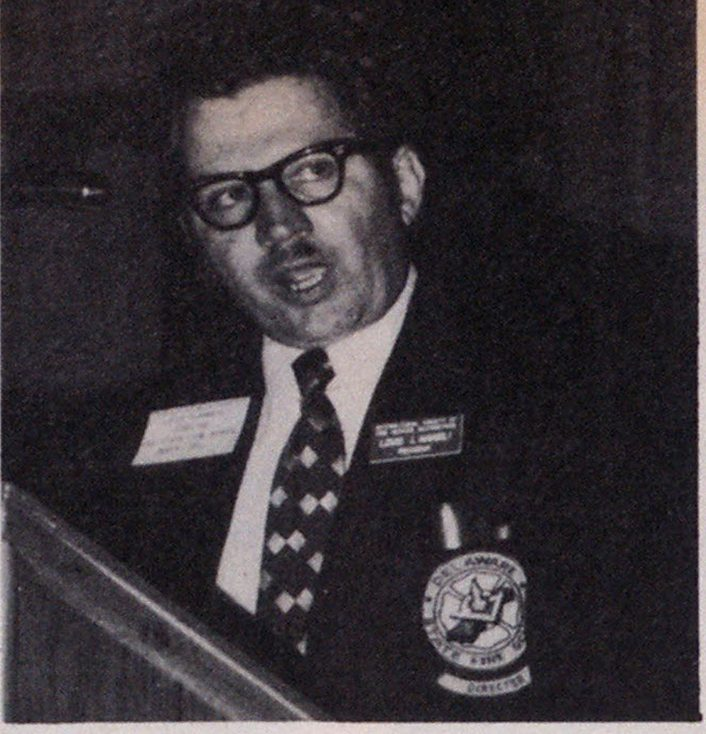 Louis J. Amabili, director of the Delaware State Fire School.