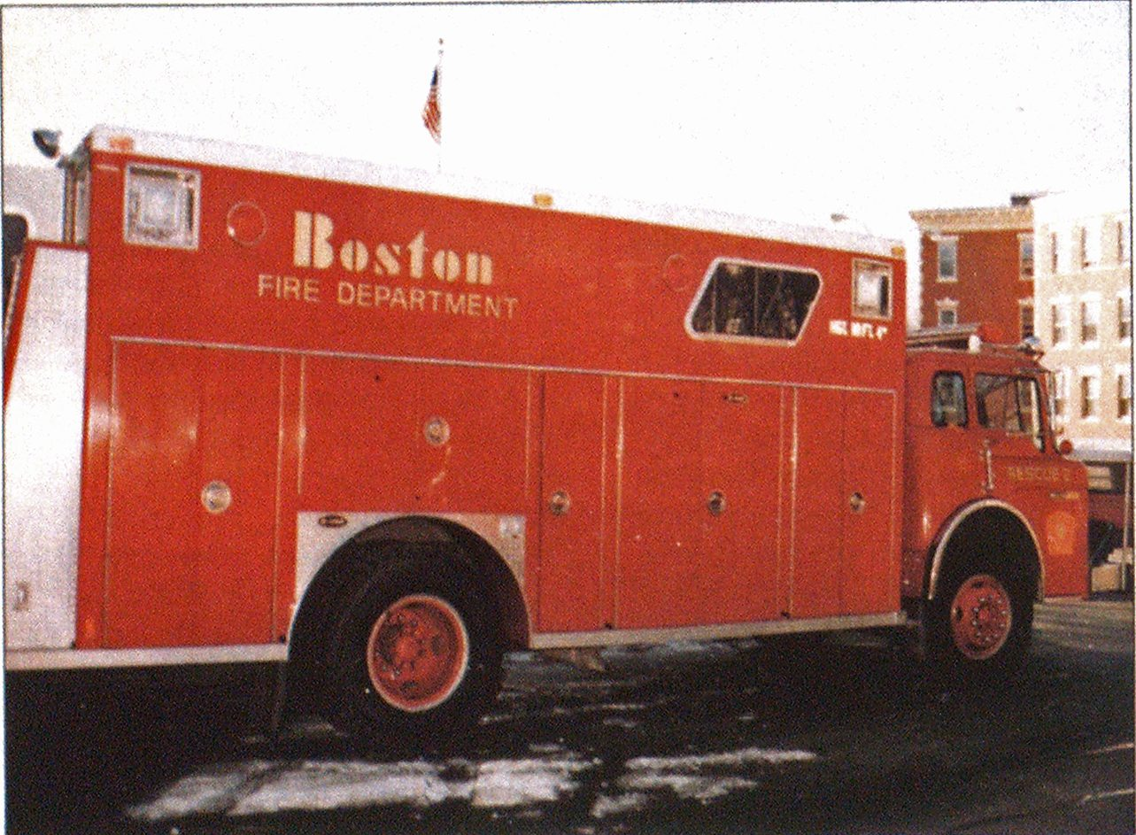 The design of a rescue apparatus should meet the needs of the unit and the department. Traditional compartmentation of a vehicle from the Boston Fire Department contrasts with the snorkel-equipped rescue vehicle from the Chicago Fire Department.