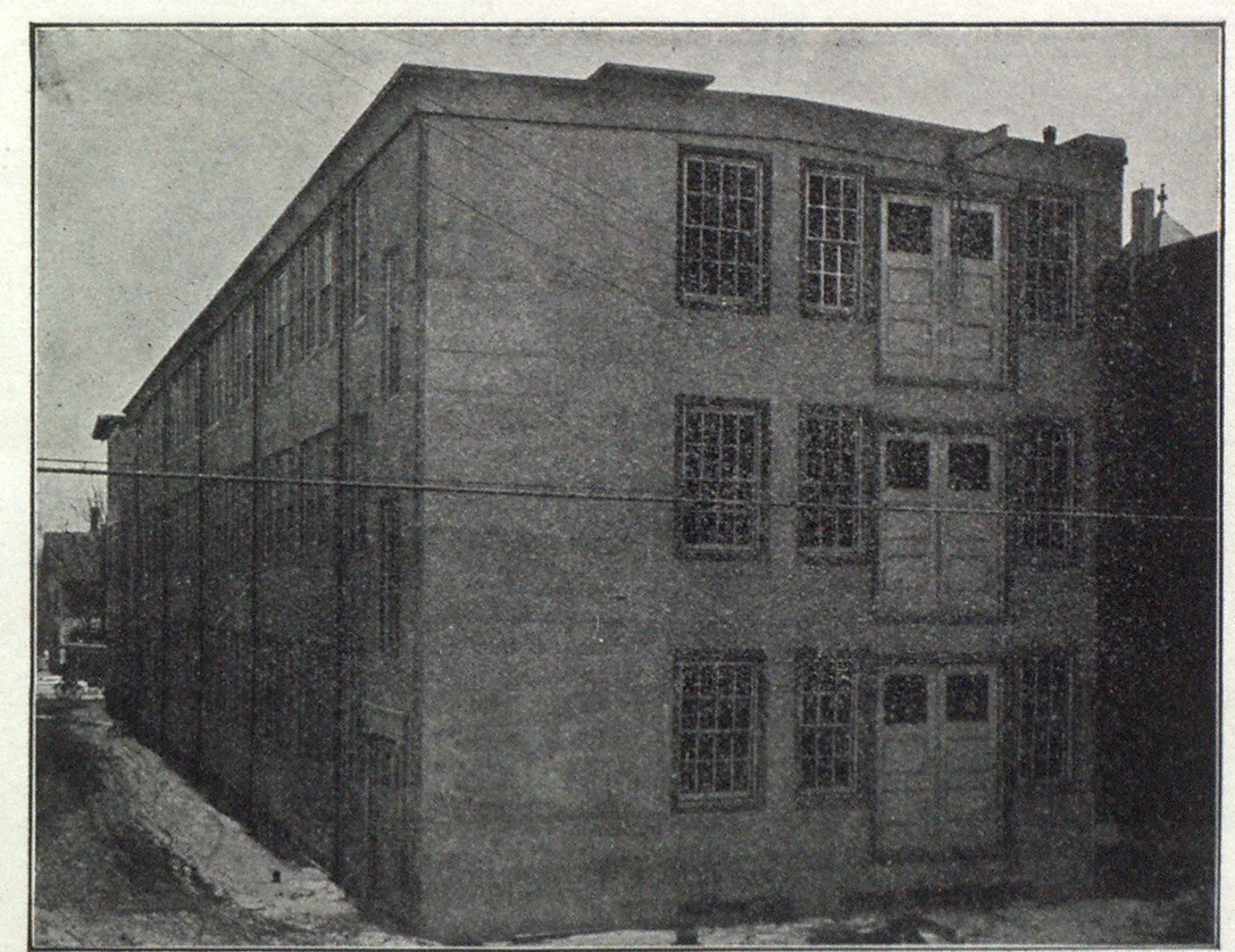 General View of Fireproof Factory.