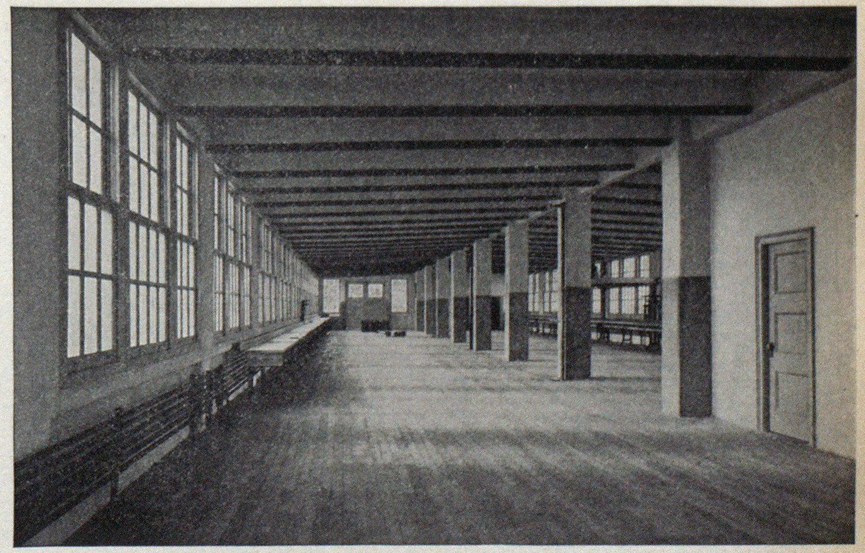 Interior View of Jewelry Fireproof Factory.