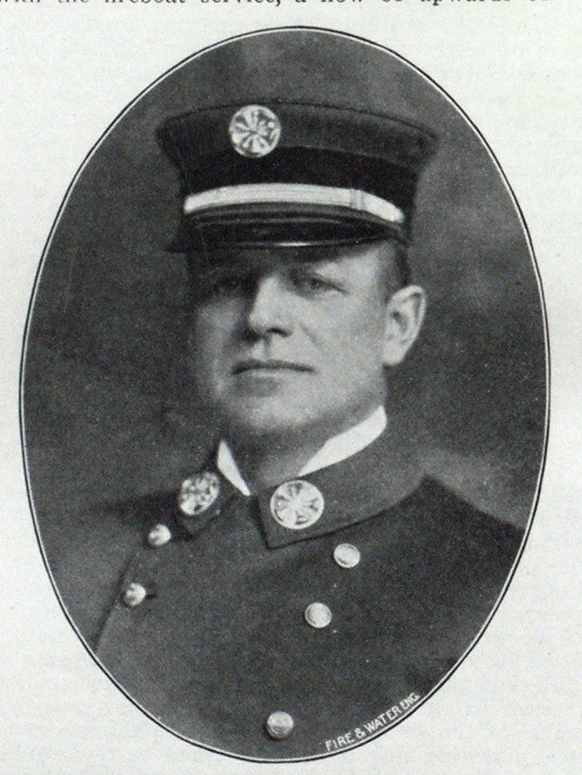 EDWARD F. CROKER. Chief New York Fire Department.
