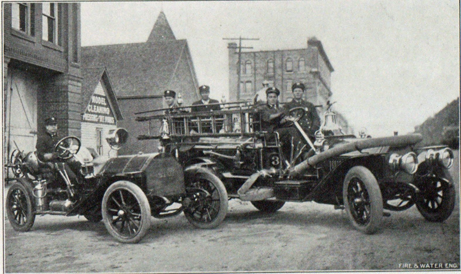 MOTOR ENGINE AND AUTOMOBILE OF CHIEF ALDER, TULSA.