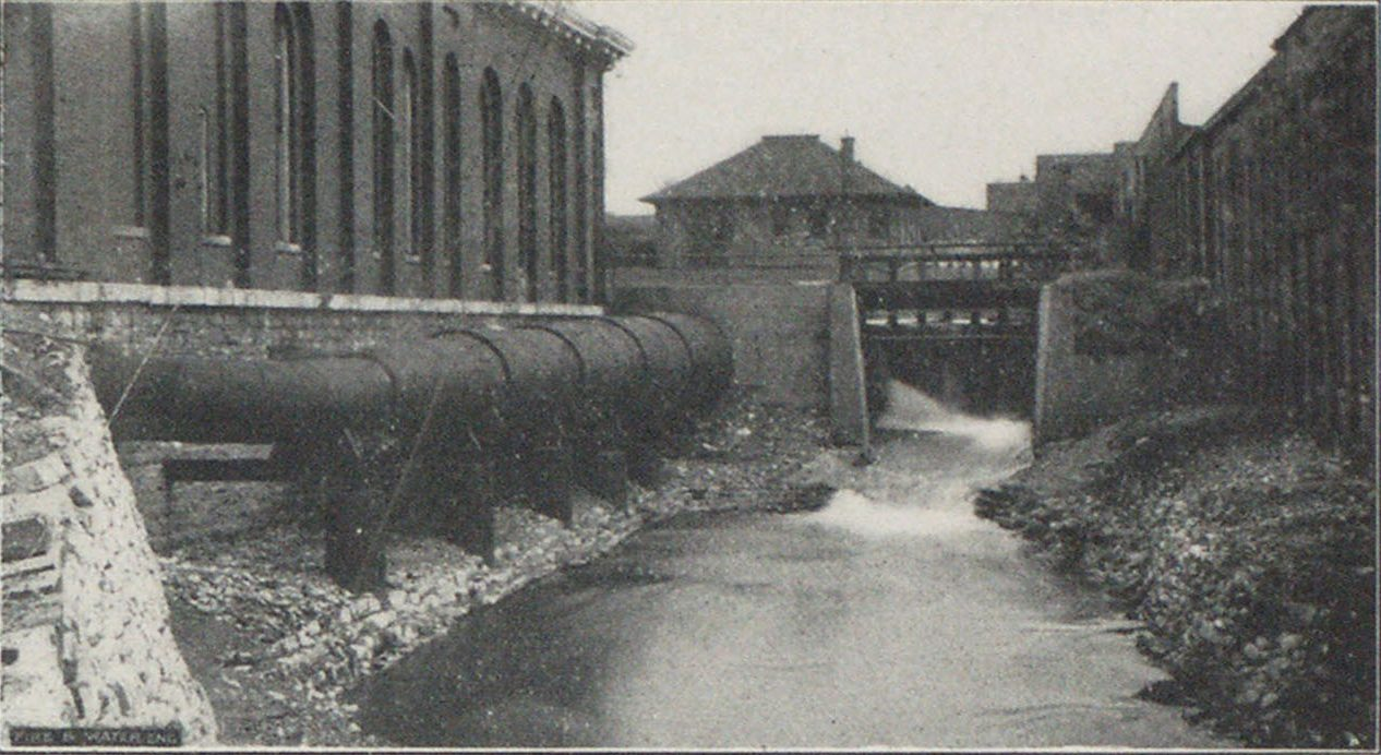 WATER POWER DEVELOPMENT AT WASHINGTON STATION, INDIANAPOLIS.