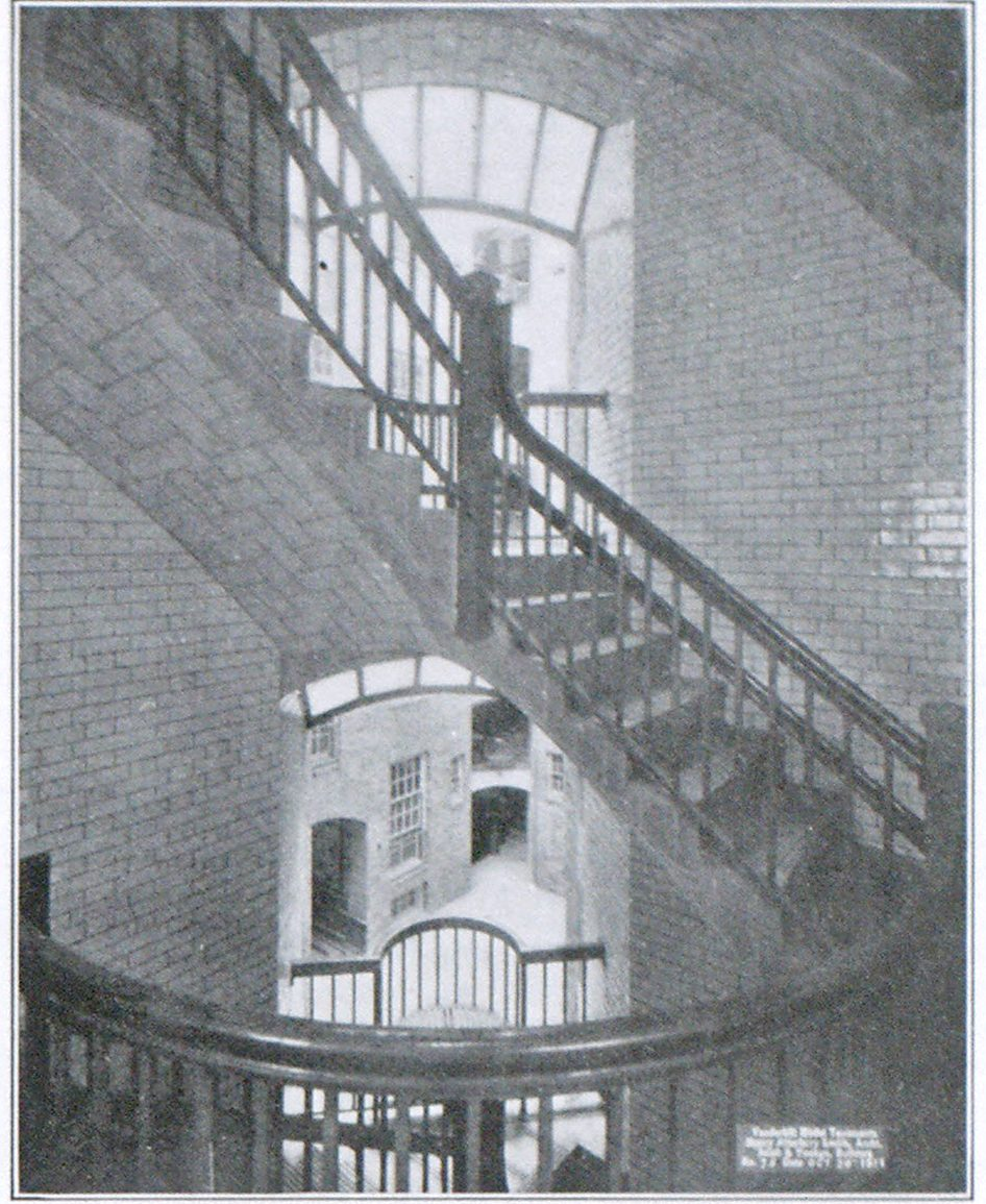 FIG. 3 -INSIDE STAIRWELL