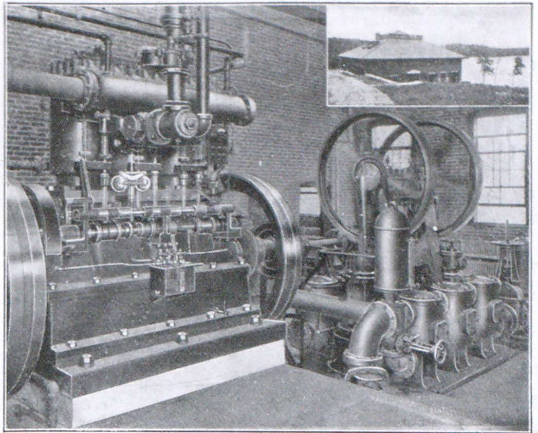 FIG. 4. THE GRAND POINT, MANCHESTER, MASS., PUMPING PLANT.