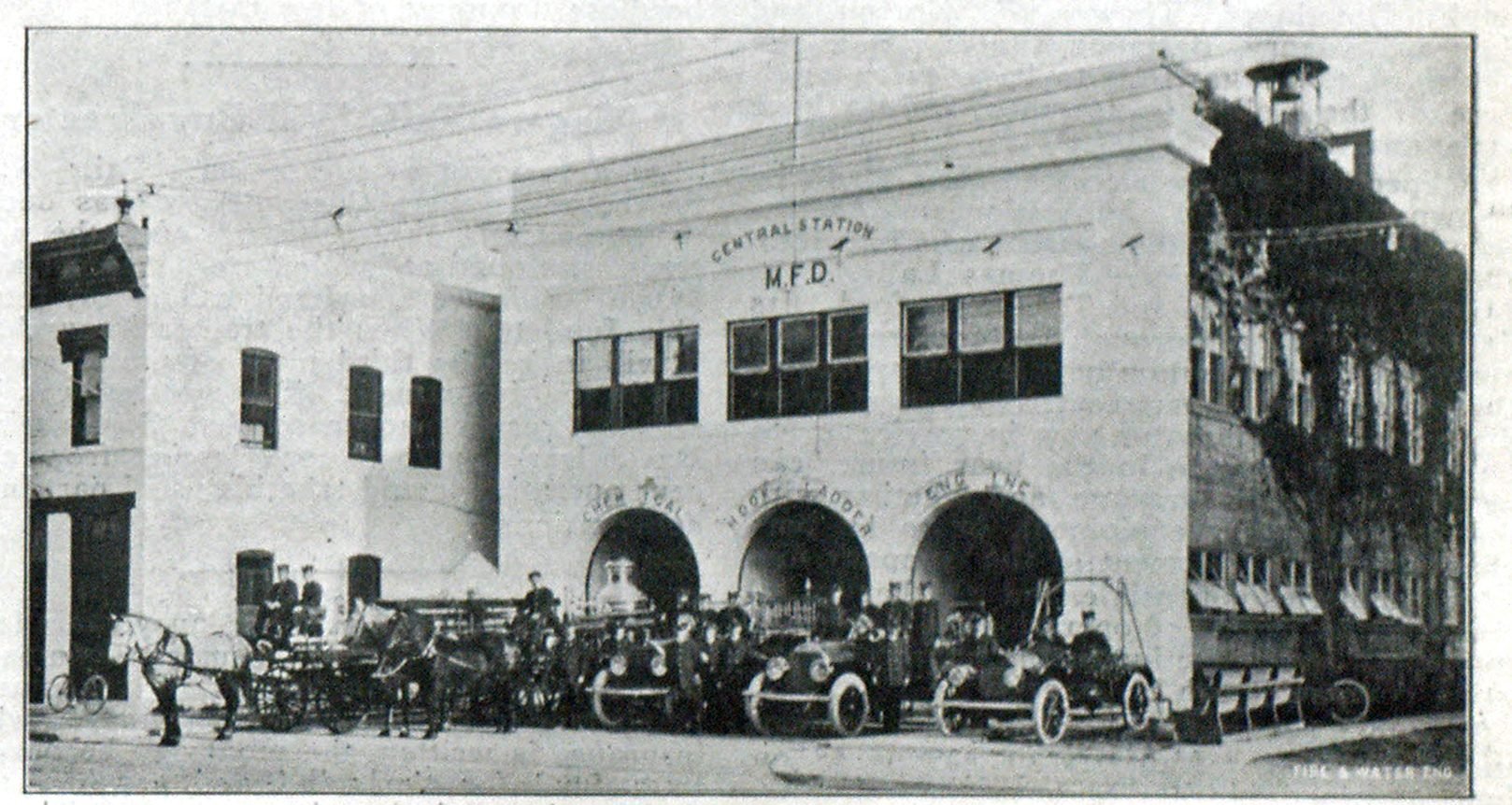 HEADQUARTERS OF THE MIAMI, FLA., FIRE DEPARTMENT.