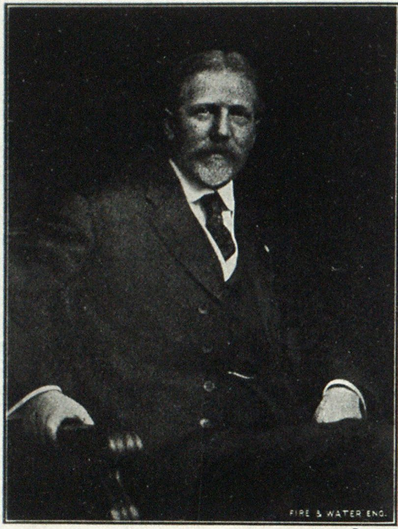 JAMES H. CALDWELL, President, Ludlow Valve Mfg. Co.