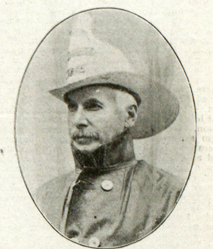LATE FIRE COMMISSIONER DAVID ISAACS OF NIAGARA FALLS, N. Y.