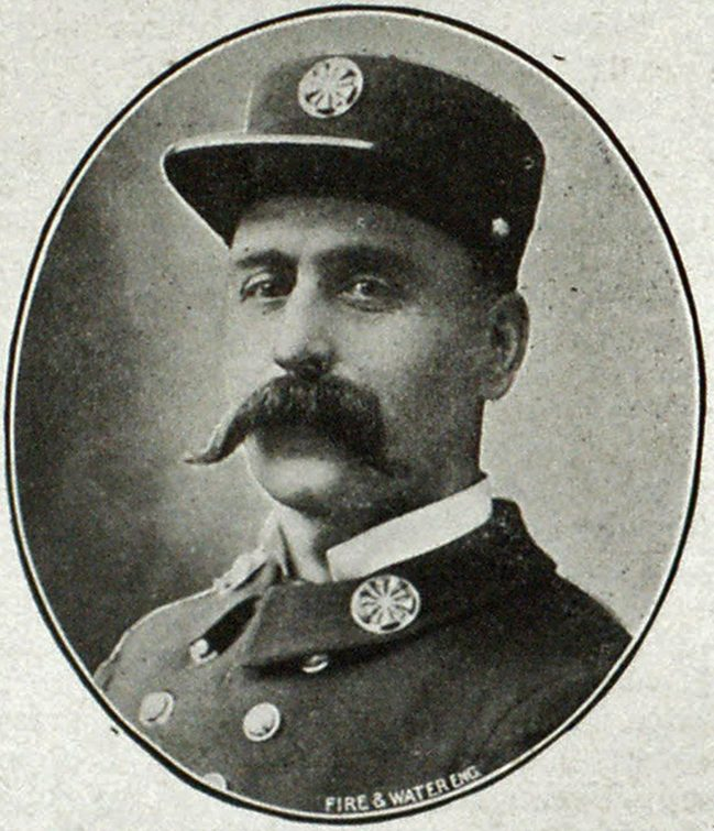 Chief Frank L. Stetson, Seattle.