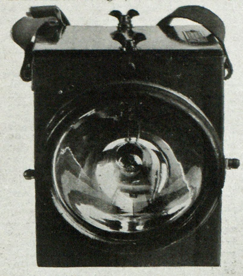 The Liberty Hand Search Light.