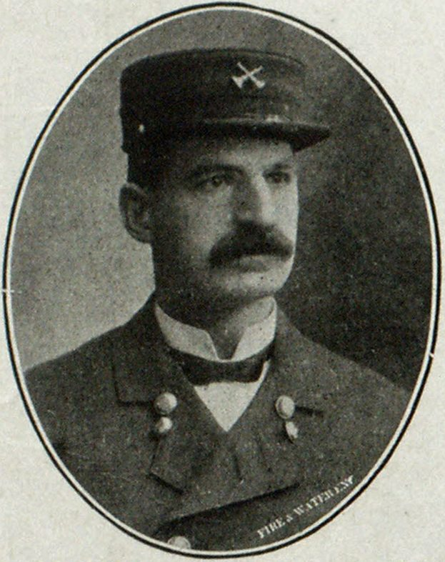 Fire Marshal Thomas O'Connor, Chicago.