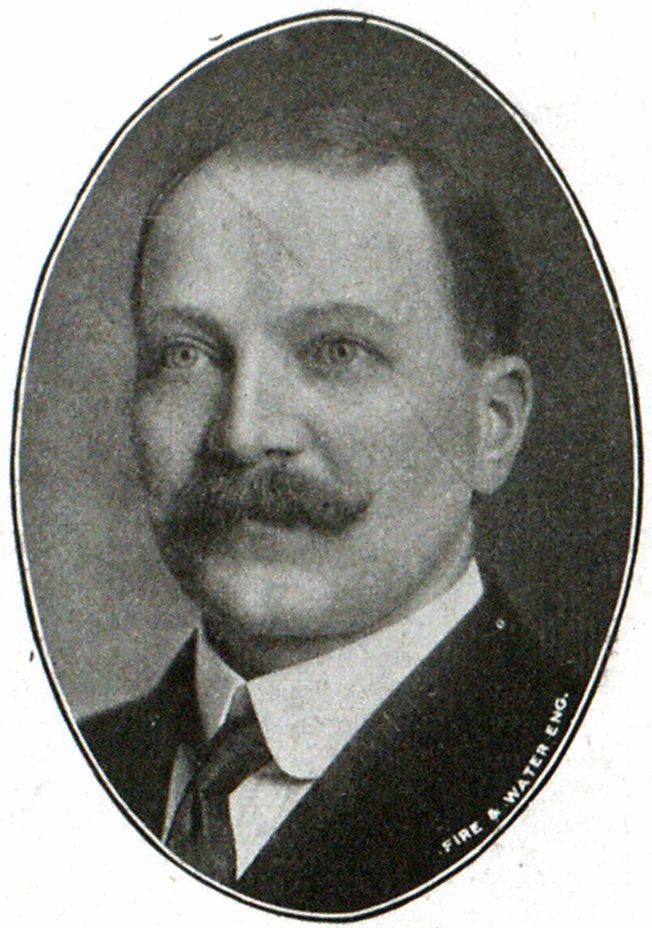Henry P. Bohmann, Superintendent of Water Department of Milwaukee.