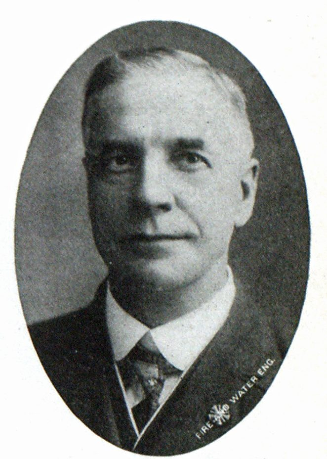Chief John E. Keyes, Galt, Ont, Treasurer