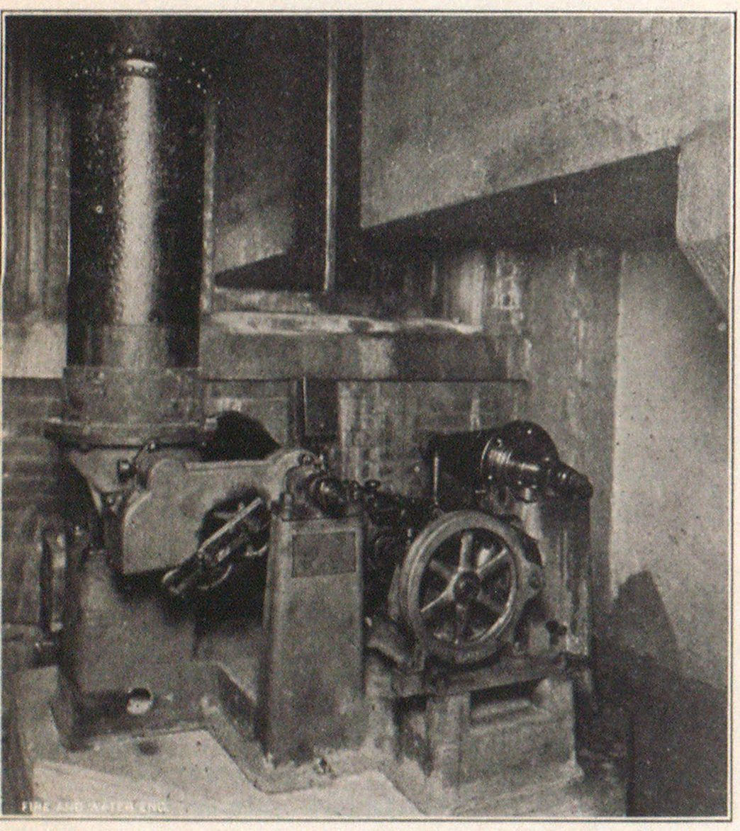 Dry Lime Feeding Machine, New Chester Water Company Plant