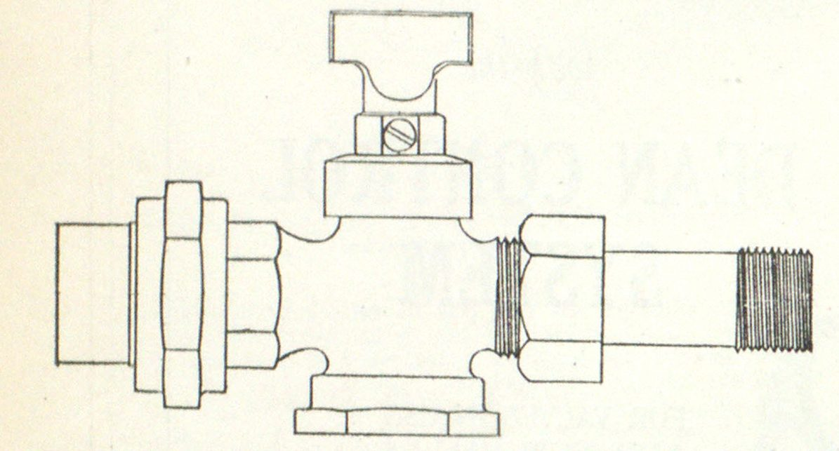 Fig. 3—5/8-inch Inv. Curb Cock; Special I. P. Union, in Addition to Regular Lead Flange Union