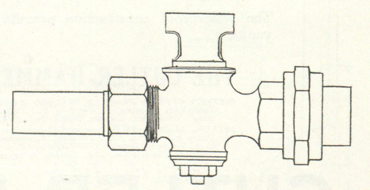 Fig. 4—Special Lead Pipe Union, in Addition to Regular Lead Flange Union