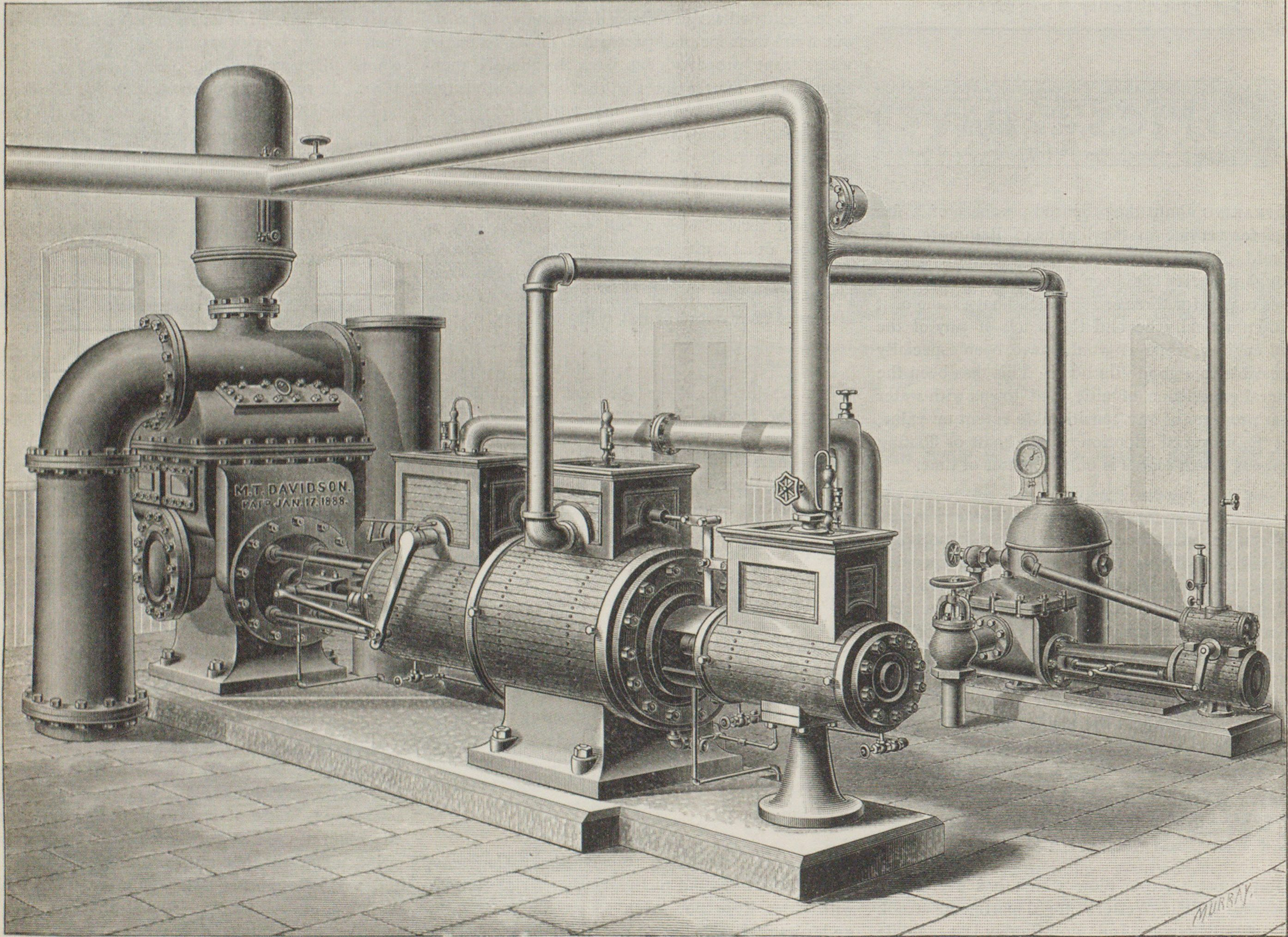 DAVIDSON PUMPING ENGINE, BROOKLYN WATER-WORKS.