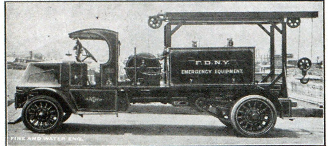 Type of Wrecker in Use by the New York Fire Department