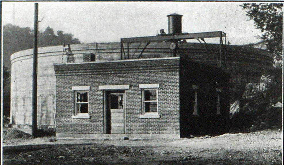 Fig. 1—New Well and Pump House, Located in East Red Wing, at Foot of Historic Barn Bluff.
