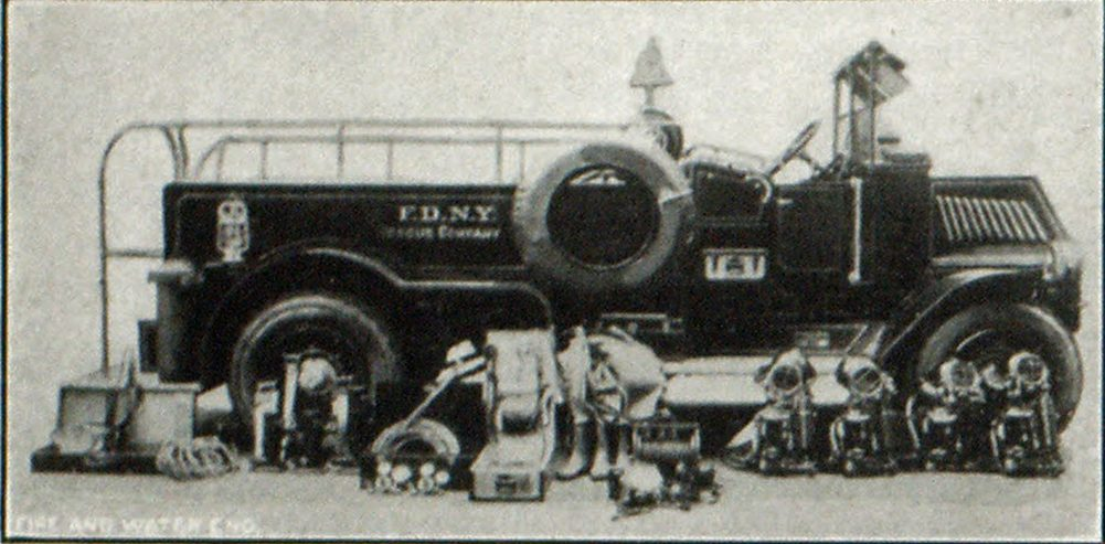 Apparatus and Equipment of Rescue Co. No. 1, New York City Fire Department