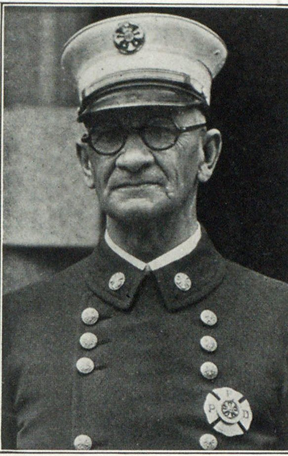 Fire Chief Lee G. Holden, of Portland, Who Will Be the Host of the Convention