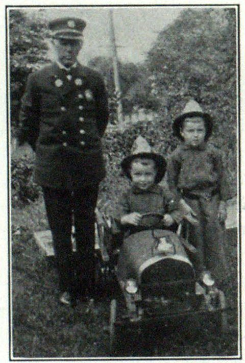 Chief Flynn and Grandsons