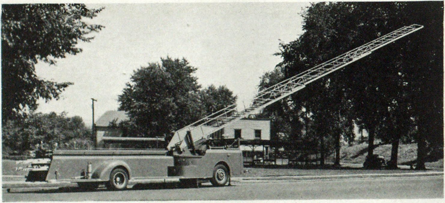 American-LaFrance Cab-Over-Engine Aerial
