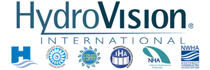 HydroVision International Denver Colorado support from six hydropower associations Canadian Hydropower Colorado Small European International Hydropower Association National Northwest