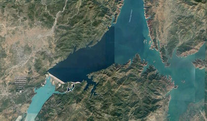 Tarbela Hydroelectric Plant Overhead