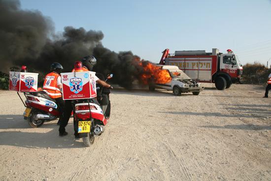 United Hatzalah Overcoming EMS Challenges of the Negev Desert