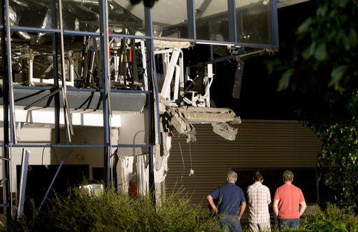 Belgium Sports Center Blast