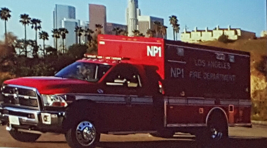 Nurse practioner response unit, now on duty in Los Angeles.