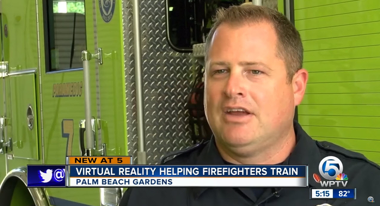 Florida Fire Rescue Department First in State to Use Virtual Reality ...