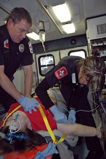 Manual CPR is dangerous for both patients and providers.