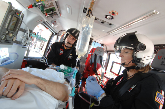 An understanding of the different clinical capabilities between HEMS services can help providers choose accordingly when utilizing a helicopter.